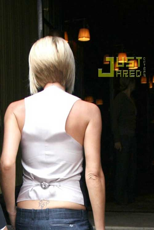 ... Beckham Blonde Layered Bob | The Best Short Hairstyles for