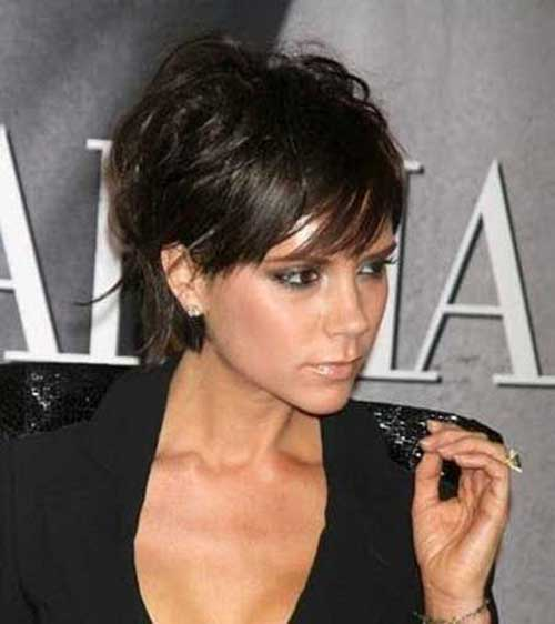 Victoria Beckham Short Hair Cut
