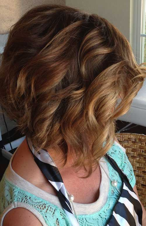 Wavy Bob Haircuts for Girls