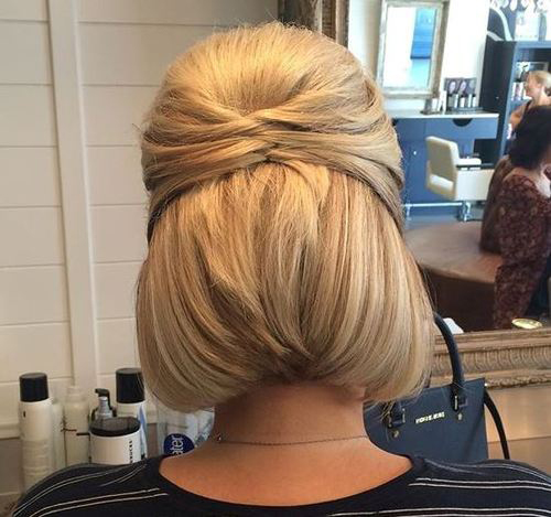 Easy Hairstyles For Short Hair-12