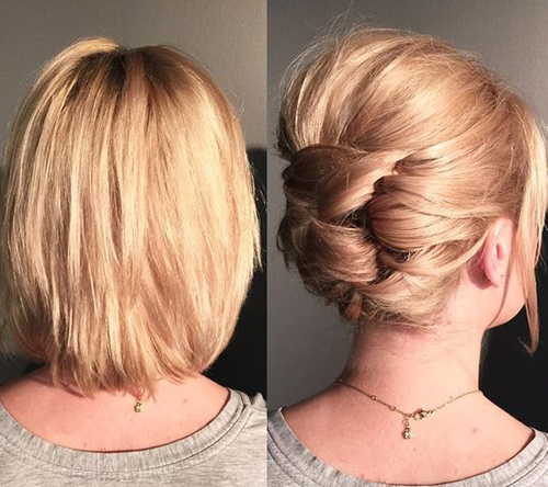 Easy Hairstyles For Short Hair-15