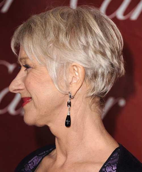 Short Hair Styles for Older Women-15