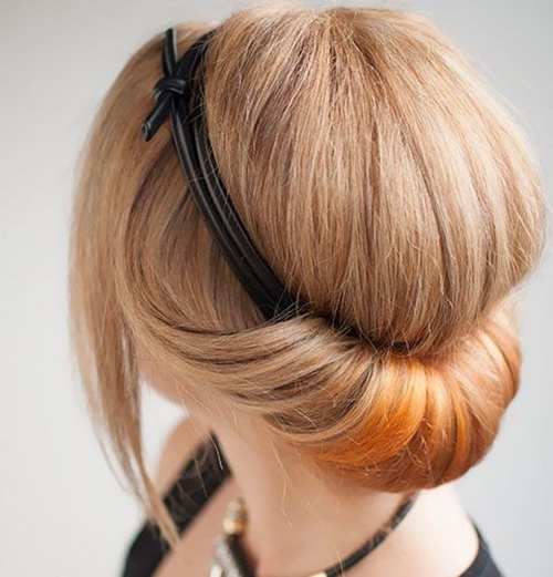 Easy Hairstyles For Short Hair-7