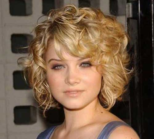Haircuts for Short Curly Hair
