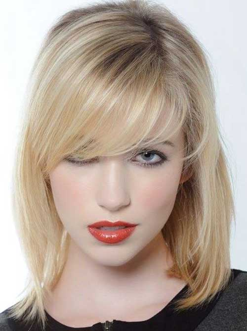 İmages of Long Bob Hairstyles with Bangs