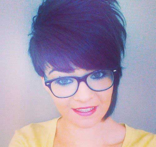 2015-2016 Short Asymmetrical Haircuts for Round Faces