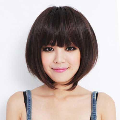 Asian Bob Haircuts with Bangs