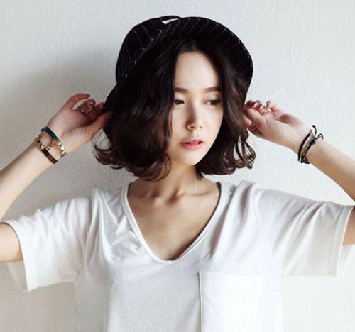 Asian Dark Bob Hairstyles