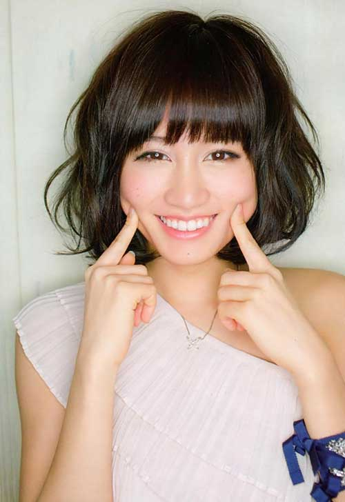 Best Asian Bob Hairstyles with Bangs