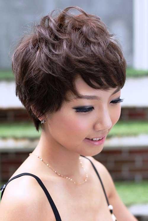 Best Asian Pixie Cut Wavy Hair