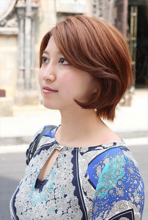 Asian Short Cute Bob Hairstyles