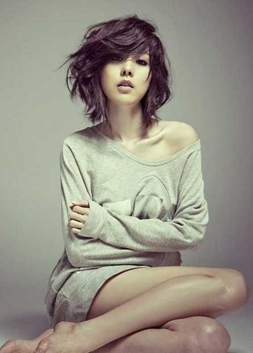 Best Asian Style Short Hairstyles for Wavy Hair