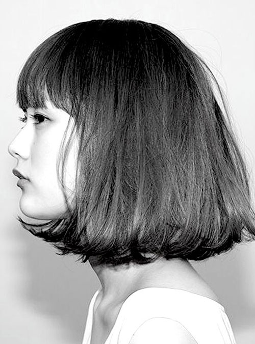 Asian Thick Bob Hairstyles