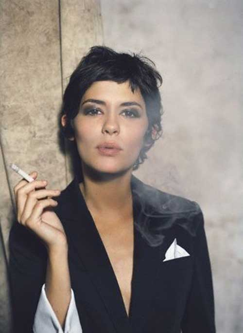 Audrey Tautou Short Hairstyles