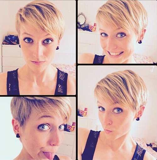 Cute Girls Cute Short Pixie Haircut
