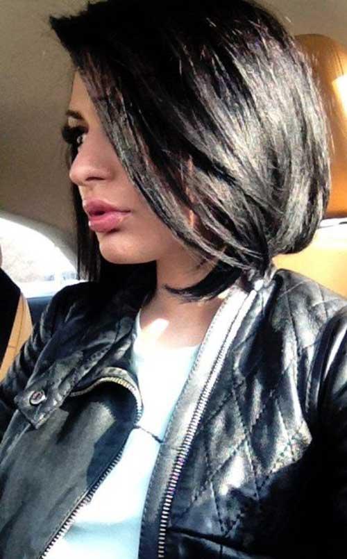 Black Long Bob Hair Cuts