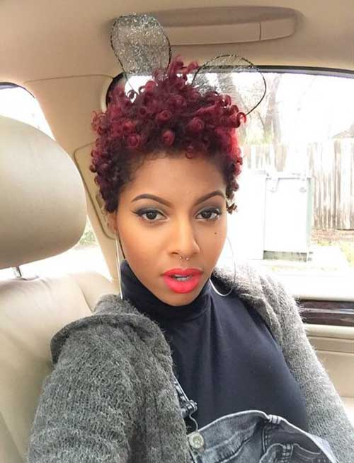 Best Black Women Short Curly Afro Hairstyles