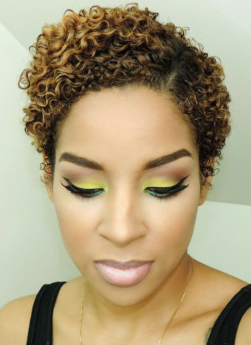 Black Women Short Thick Curly Hairstyles