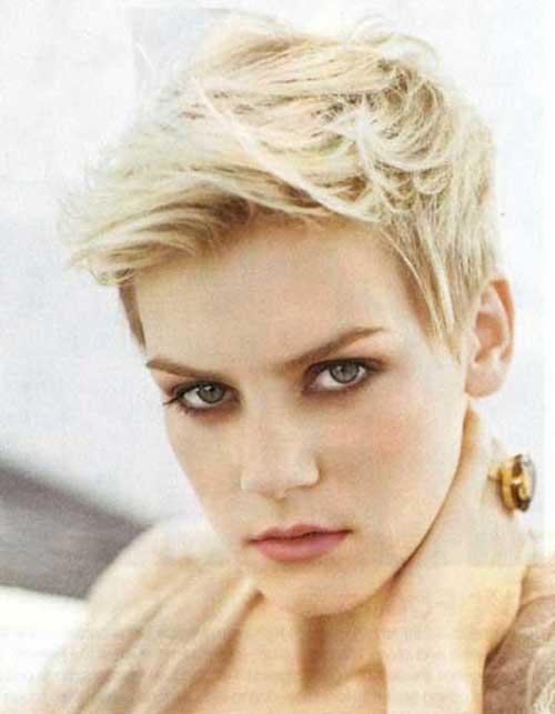 Best Blonde Pixie Cut for Thin Hair
