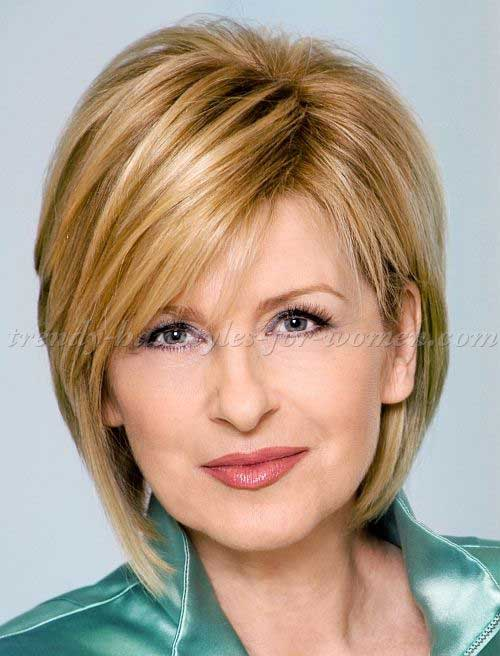 Haircuts Women Over 50 2016 moreover Bob Hairstyle Short Haircuts ...