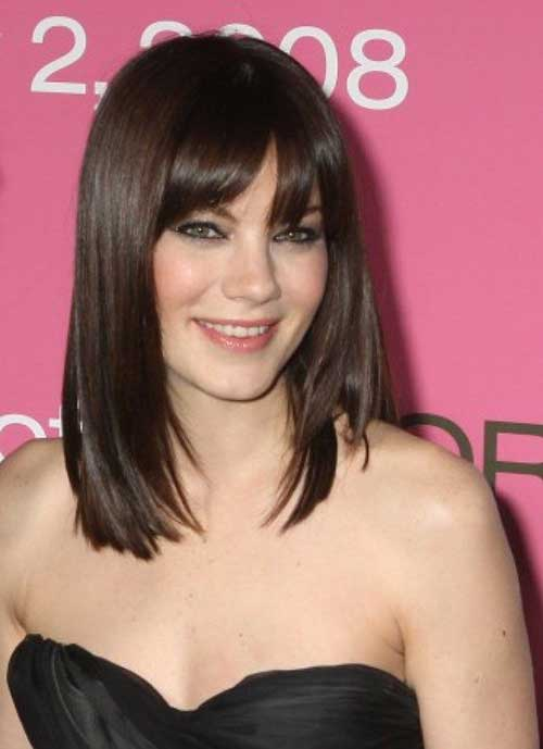 Modern Bob Hair Style with Bangs