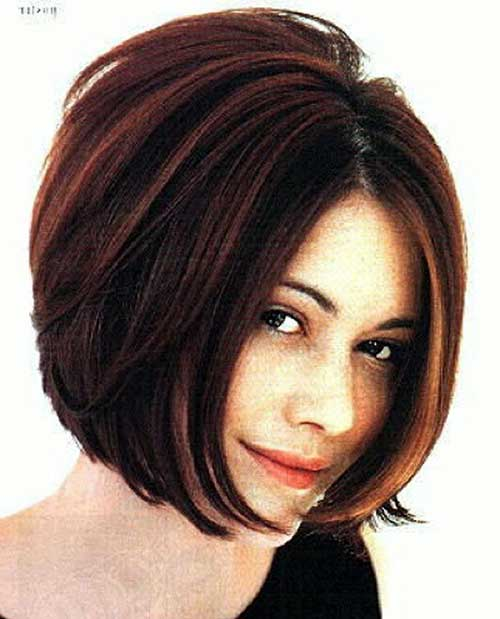 Best Bob Haircuts Round Face 2016