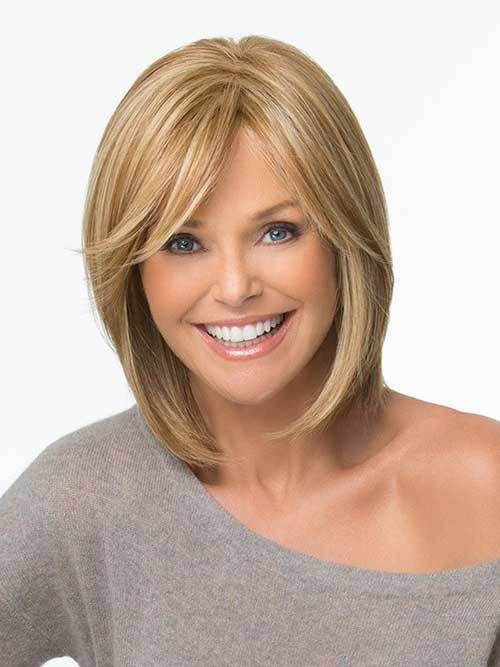 Chic Bob Haircuts with Bangs