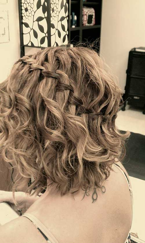 Best Braided Short Hairstyles for Curly Wavy Hair