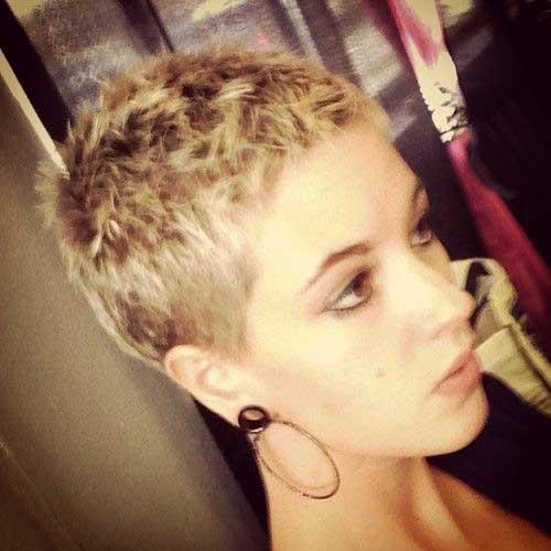 Buzz Cut Super Pixie Haircuts Styles