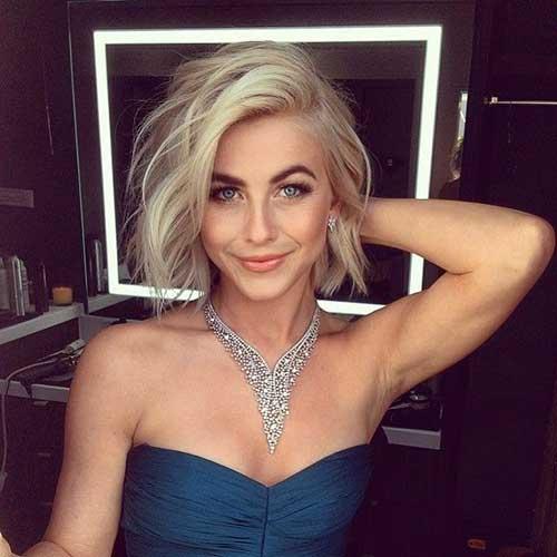 Julianne Hough Celebrity Short Hair
