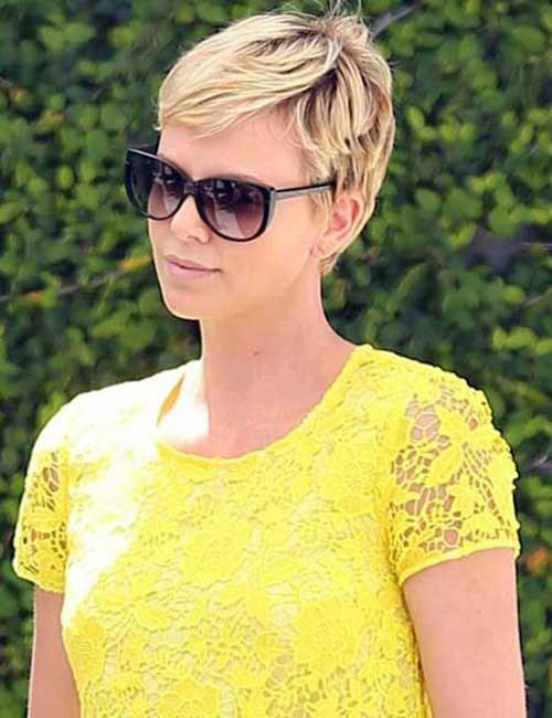 Charlize Theron Short Haircuts
