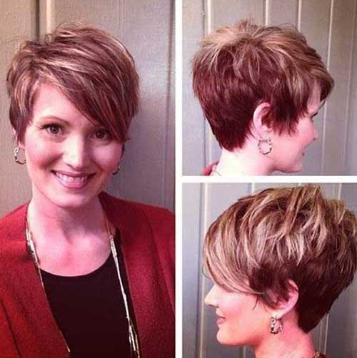 Classy Medium Pixie Haircuts