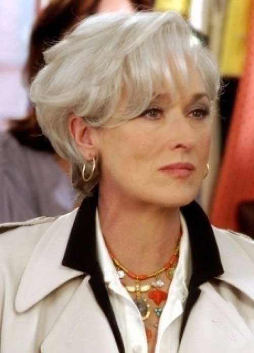 Classy Pixie Haircuts for Over 50