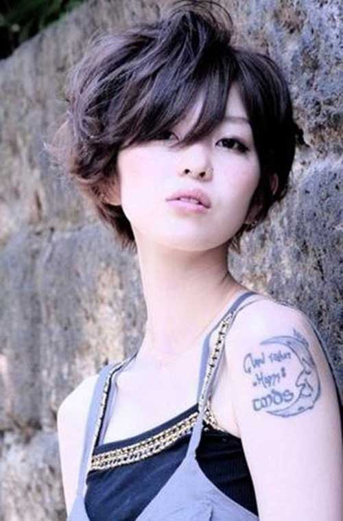 Cool Asian Style Short Hairstyles