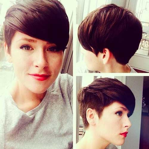 Cool Haircuts for Undercut Pixie Short Hair