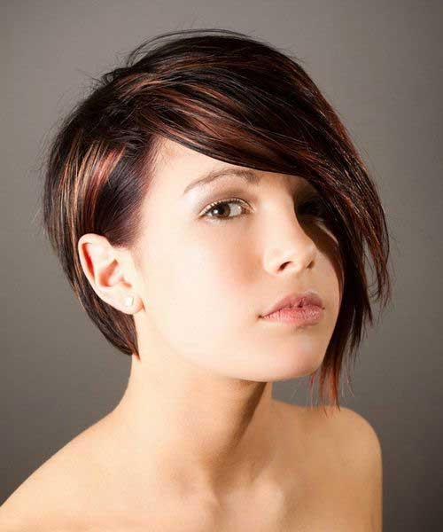 Cool Short Asymmetrical Hair Ideas