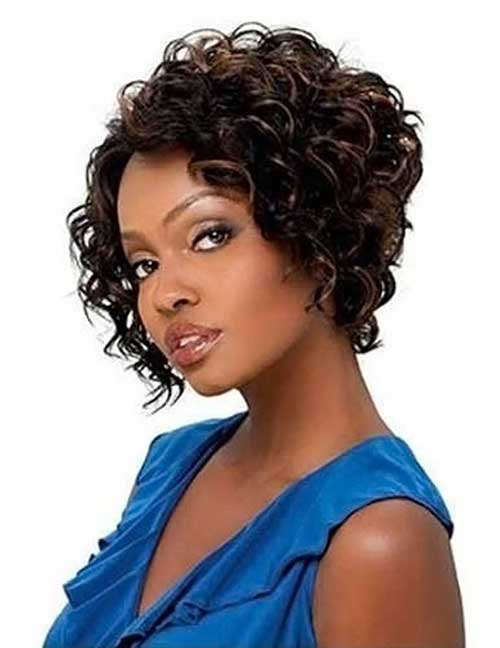 Best Cute Short Curly Haircuts for Black Women