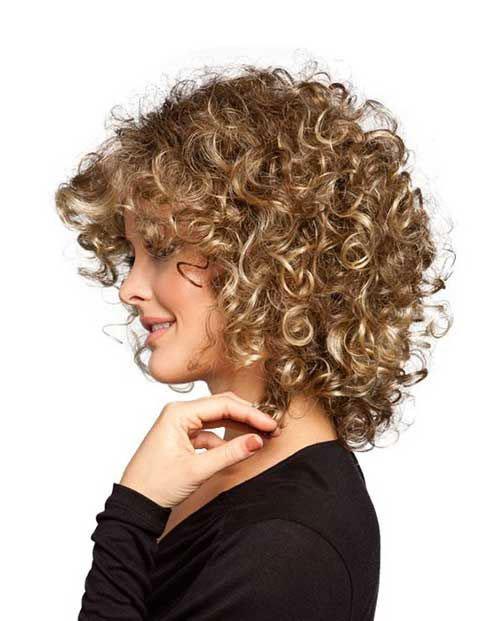 Super 16 Short Hairstyles For Thick Curly Hair Crazyforus Short Hairstyles Gunalazisus