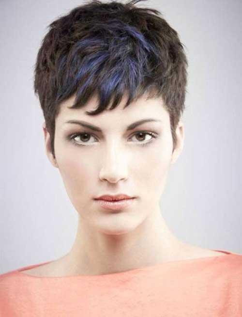 Dark Hair Super Short Womens Haircuts Ideas