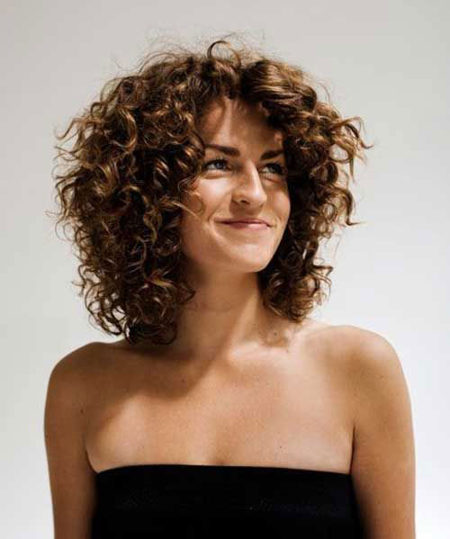 Girls Short Curly Haircuts