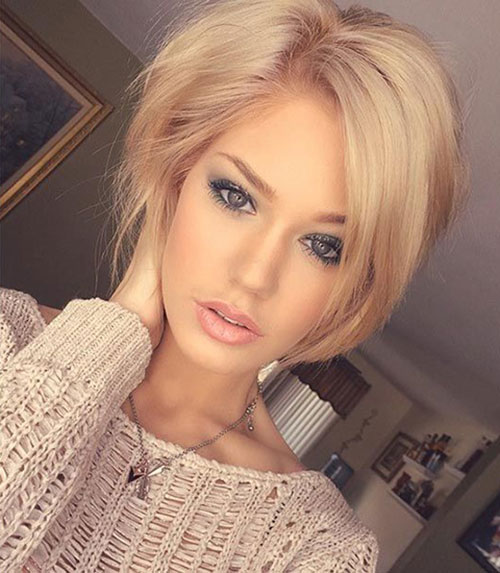 Layered Hairstyles for Short Hair Girls