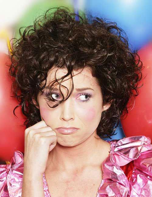 Surprising 16 Short Hairstyles For Thick Curly Hair Crazyforus Short Hairstyles Gunalazisus