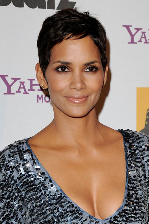 Halle Berry Chic Short Pixie Cuts