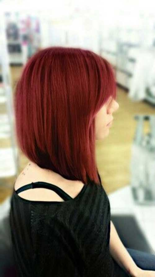 Best Inverted Bob with Bangs