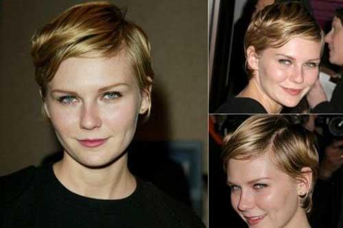 Kirsten Dunst Pixie Hairstyles