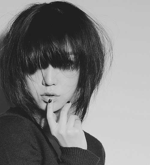 Best Korean Style Short Haircuts Thick Straight Hair