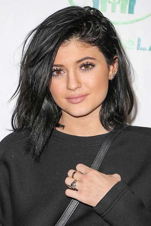 Best Kylie Jenner Short Black Hair