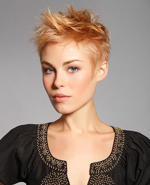 Layered Spiky Pixie Haircuts