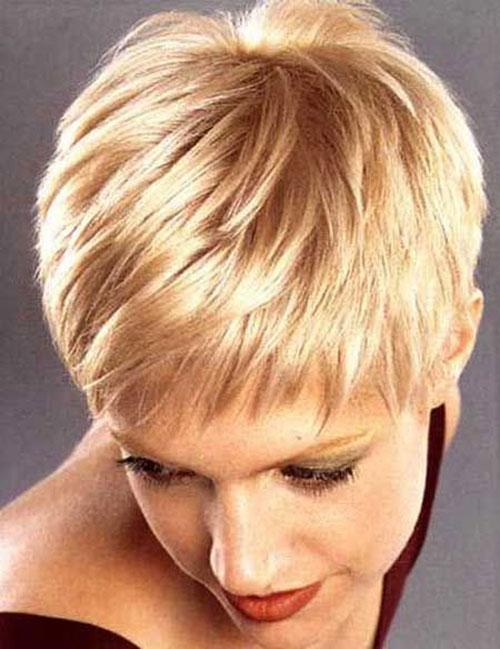 Layered Straight Hair Pixie Haircuts