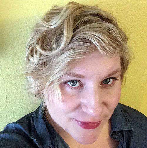 Long Wavy Pixie Hair Cuts